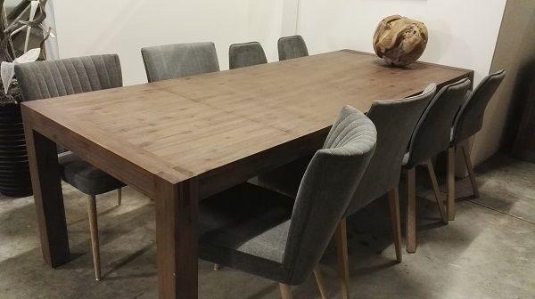 Eetkamer Tafel Uitschuifbaar.Uitschuifbare Eetkamertafel Stacey